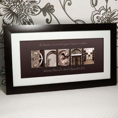 Personalised Art Dream Large Frame